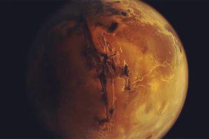 J'ai été sur Mars