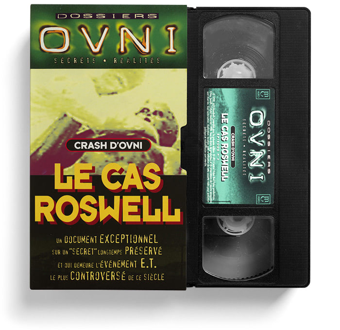 VHS Le cas Roswell.