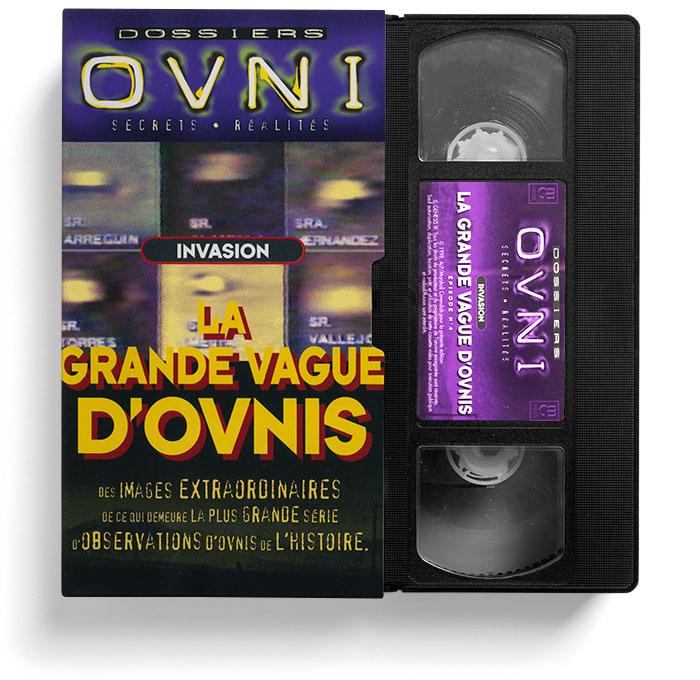 VHS La Grande vague d'OVNIS.