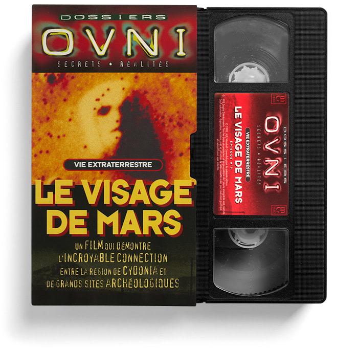 VHS Le Visage de Mars.